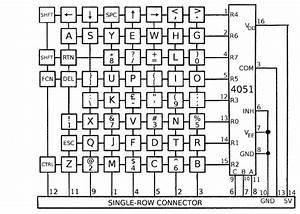 Pc Keyboard Wiring Schematic