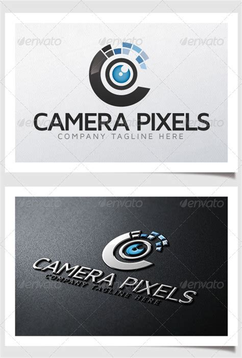 high quality psd ai photography logo templates web