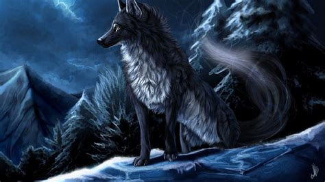 cool anime wolf wallpapers 56 images