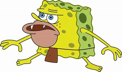 Spongegar Spongebob Caveman Meme Transparent Primitive Sponge