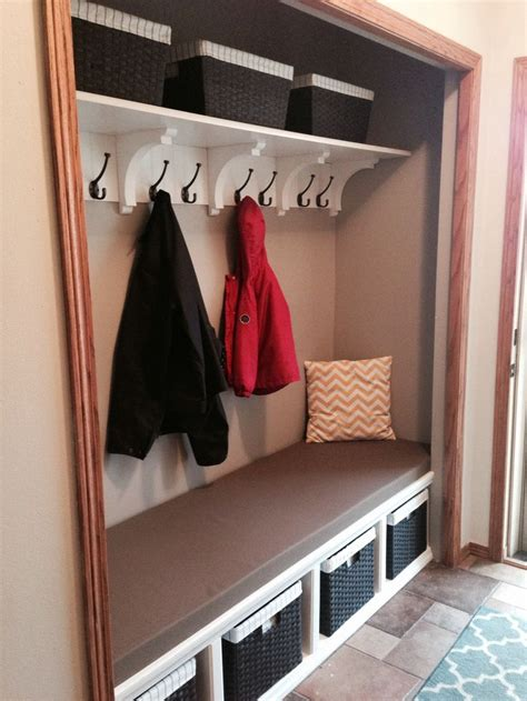 Front Entry Closet Organization Ideas by 17 Best Images About Entryway Closet Idea On
