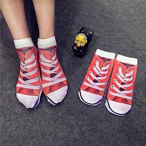 Creative Spoof Socks Pattern Cotton Socks