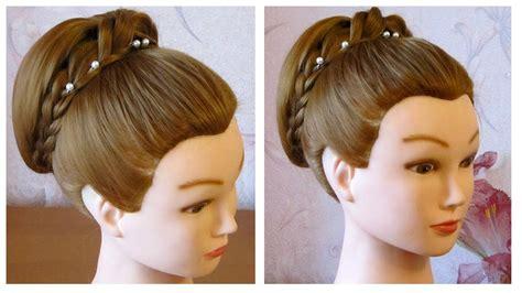 coiffure simple pour les fetes chignon facile a faire soi meme cheveux mi