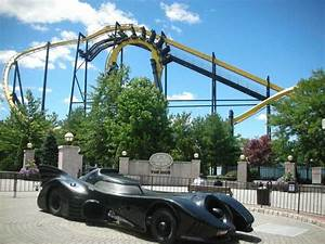 Batman: The Ride Roller Coaster Photos, Six Flags Great ...