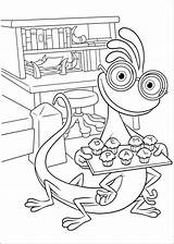 Monsters University Fun Coloring Pages Coloringpages sketch template