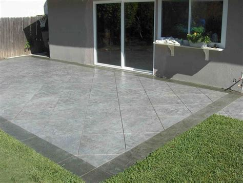 patio cement ideas sted concrete patio installation do s and don ts traba homes