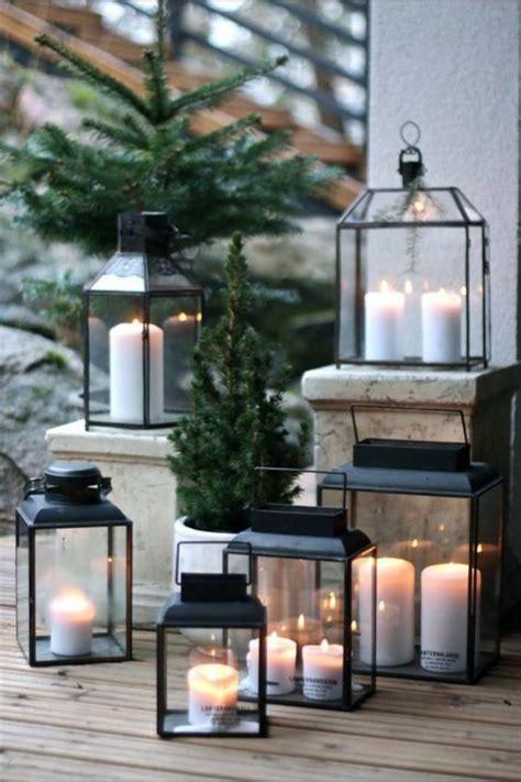 la lanterne bougie  objet deco classique en