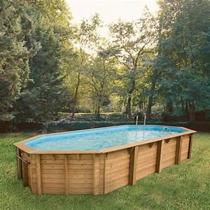 Piscine Bois Ubbink : piscine bois octogonale allong e 470x860cm ocea toute ~ Mglfilm.com Idées de Décoration