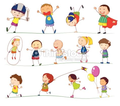 foto de Simple Les Enfants Clipart vectoriel Thinkstock