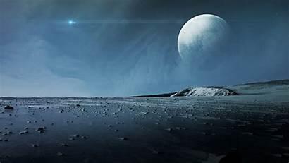 Surface Planet Moon Alien Pluto Ice Landscape