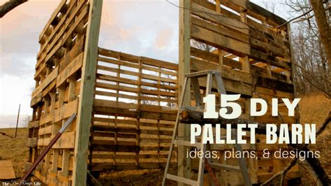 diy pallet shed barn  building ideas
