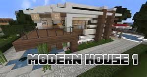 HD wallpapers maison moderne sur minecraft tuto