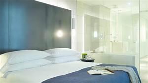 amenager une suite parentale une chambre avec salle de bains With salle de bain design avec décoration d une chambre à coucher adulte
