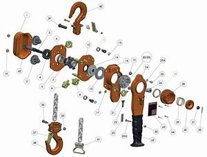 Wh-l5 Lever Hoist Spare Parts