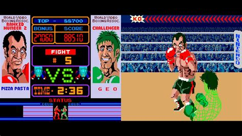 Arcade Game Punch Out 1984 Nintendo Youtube