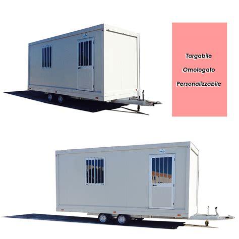 casa mobile su ruote prezzi casa mobile rimorchio monoblocco su ruote prefabbricato