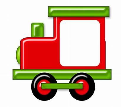 Train Clipart Transparent Engine Choo Animated Transport