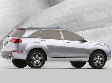 2006 acura md x concept car insurance information