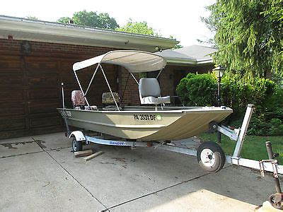 Lowe Deck Boat Bimini Top by Lowe Roughneck Boats For Sale