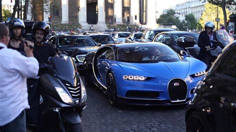 Bugatti On The Streets by World S Registered Bugatti Chiron In The Streets In