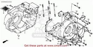 Honda Trx300fw Fourtrax 4x4 1990 Usa Crankcase