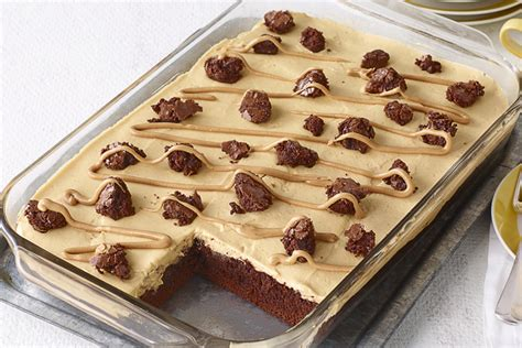 dessert au beurre d arachide et aux brownies kraft canada