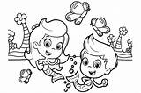 Coloring Bubble Guppies Pages Printable Colouring Fish Clipart Bubbles Sheets Guppy Printables Gil Molly Nick Jr Cartoon Summer Mermaid Getdrawings sketch template