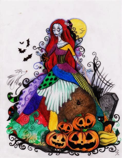 halloween art drawings festival collections