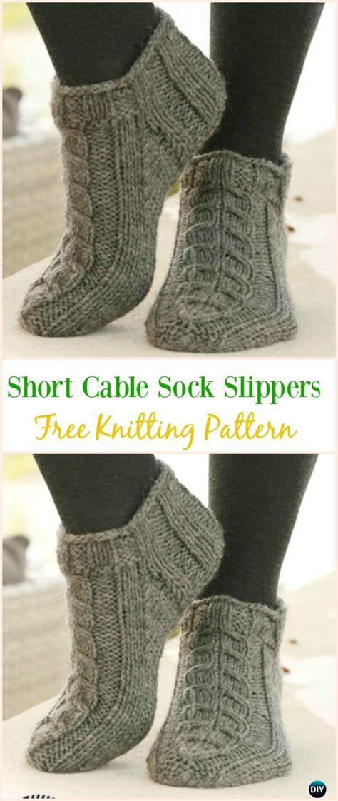 knit adult slippers boots  patterns written tutorials