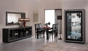Meuble Laqué Noir : meuble tv prestige 302 laque noir noir ~ Premium-room.com Idées de Décoration