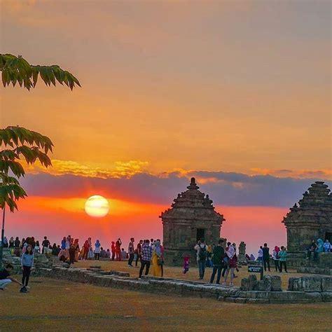 berburu sunset  candi ijo candi tertinggi  yogyakarta
