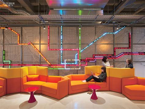 Interior Design Project by Connections Gensler Delivers Open Office For