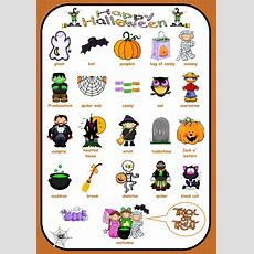 Halloween Vocabulary For Writing  Language Arts  Halloween Vocabulary, Halloween Worksheets