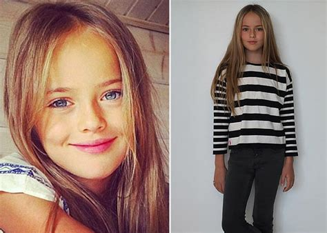'most Beautiful Girl In The World' (10) Lands Modelling