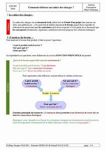 Calam U00e9o - Le Cahier Des Charges