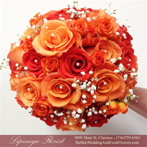 Coral Wedding Flowers Buffalo Wedding And Event Flowers By