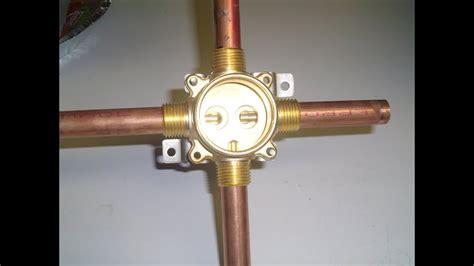 delta shower valve installation screw  youtube