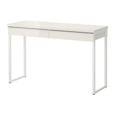 ikea bureau besta bestå burs desk high gloss white ikea