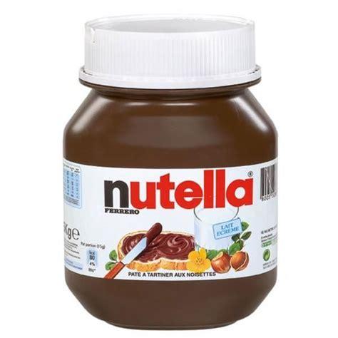 gros pot de nutella 5 kg prix gros pot de nutella 10 kg