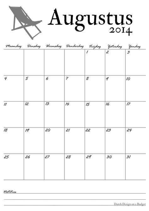 Kleurplaat Slopen by Design On A Budget Kalender De Maand Augustus