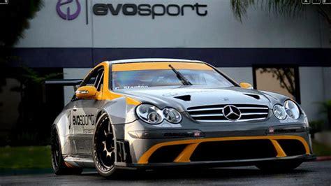 Tuning Shop Turns CLK63 AMG Black Into Legitimate Race Car