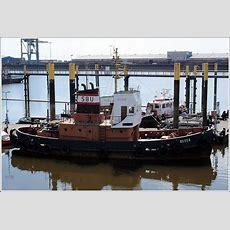 Die Weser Ist Ein 1957 Gebauter Schlepper Der