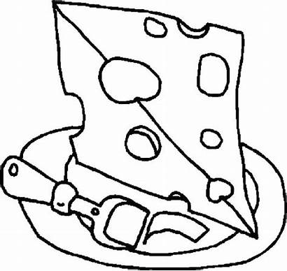 Cheese Coloring Pages Chuck Cheesecake Getcolorings Printable