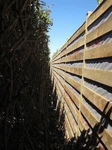 Cloison Jardin Anti Bruit : r alisation d un cran anti bruit en bois en 2010 le ~ Edinachiropracticcenter.com Idées de Décoration