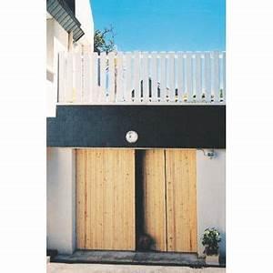 Porte De Garage 4 Vantaux : porte de garage 4 vantaux sapin 200 x 240 castorama ~ Dallasstarsshop.com Idées de Décoration