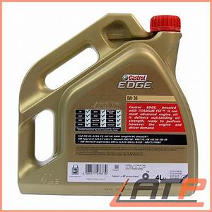 Castrol Edge 0w30 : 1 l 4 l 5 litre castrol edge titanium fst 0w 30 ~ Melissatoandfro.com Idées de Décoration