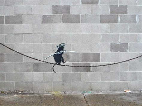 Pin by Laurie Herndon on ARTIST - Banksy Street Art ...
