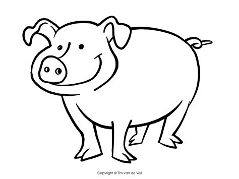 Pig Drawing For Kids at GetDrawings Free download