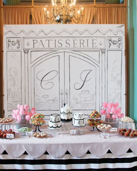 Dessert Table Ideas from Real Weddings Paris party