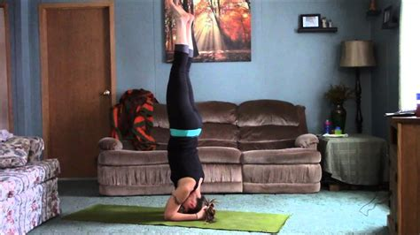 Living Room Yoga  Headstandscorpion Tutorial Youtube
